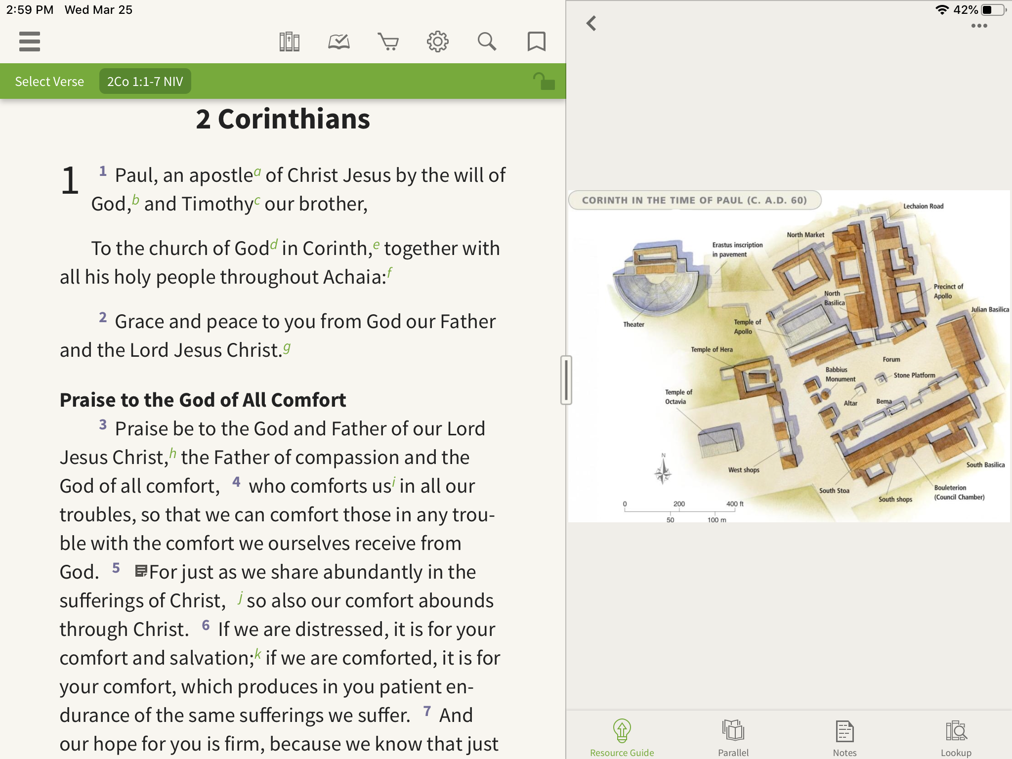 Images of Corinth in the Resource Guide