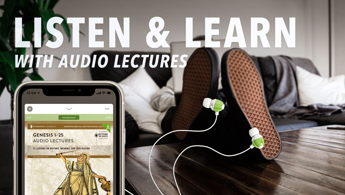 Listen and Learn with Audio Bible Courses