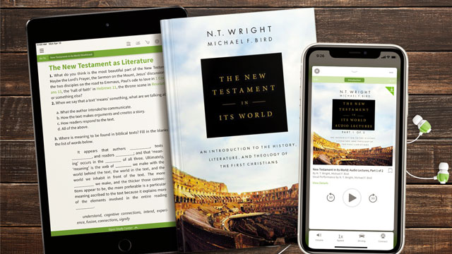 The New Testament in It's Word Audio Lecture Collection in the Olive Tree Bible App