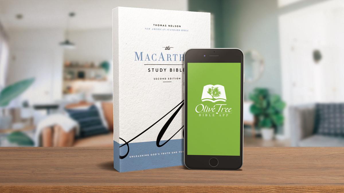 MacArthur Study Bible NASB Olive Tree