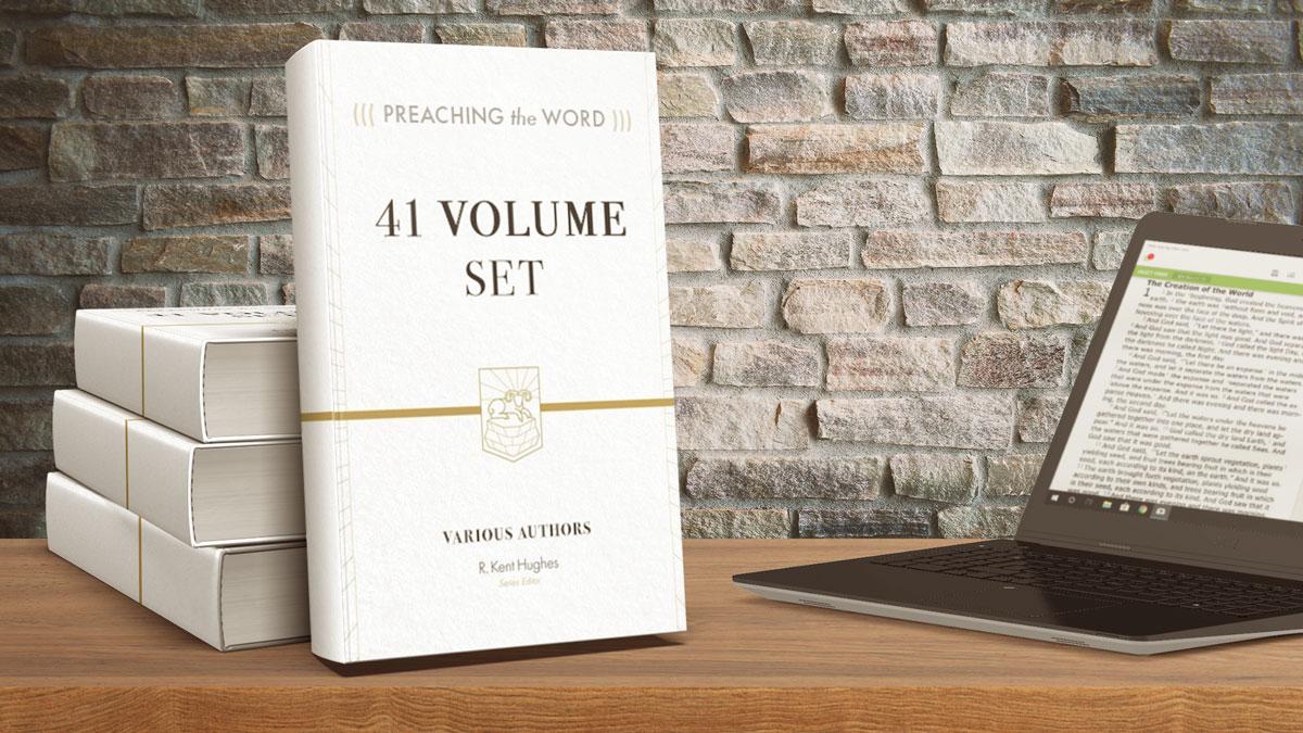 Preaching the word full 41 volume set