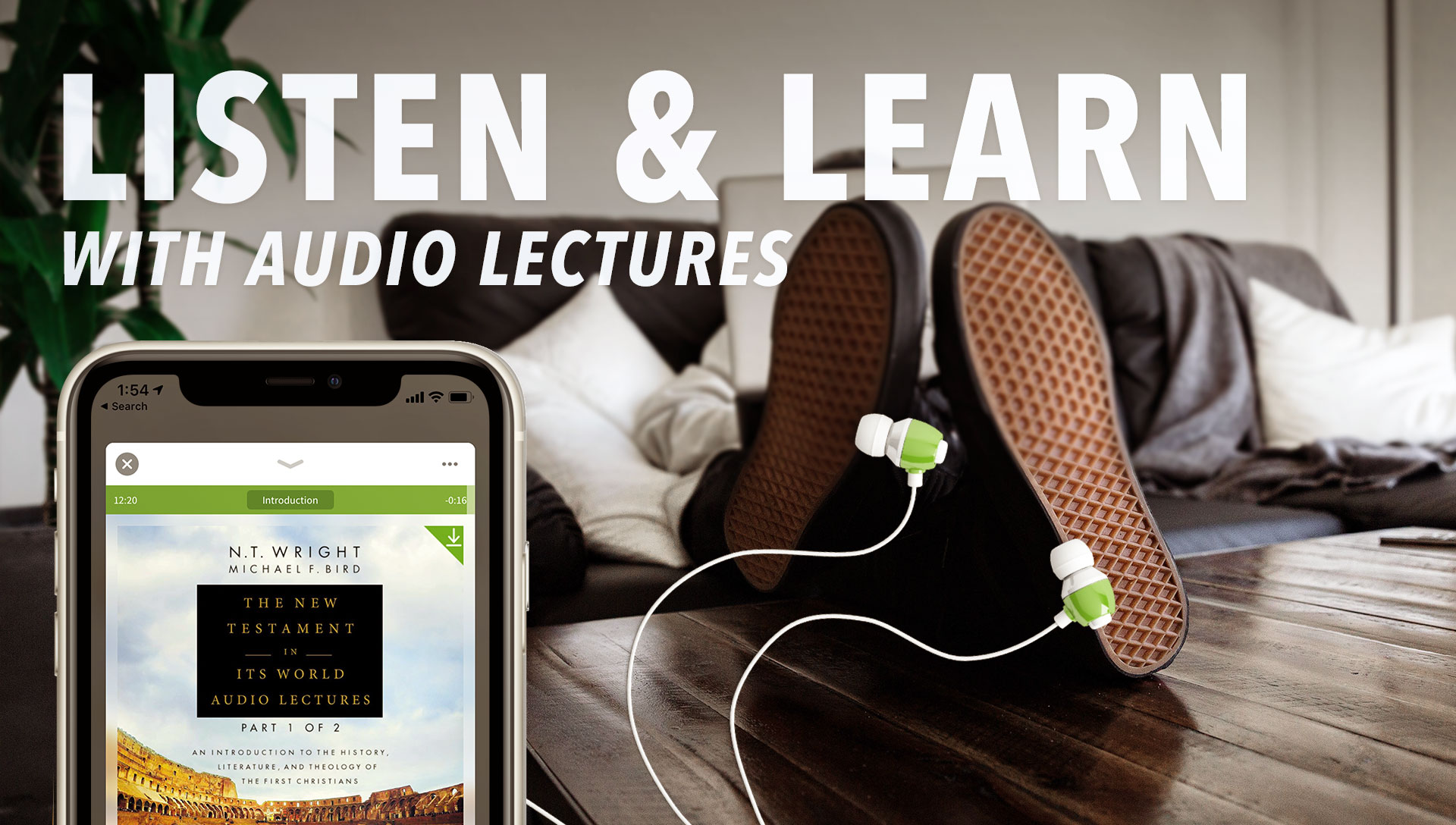 Listen and Learn with Audio Lectures