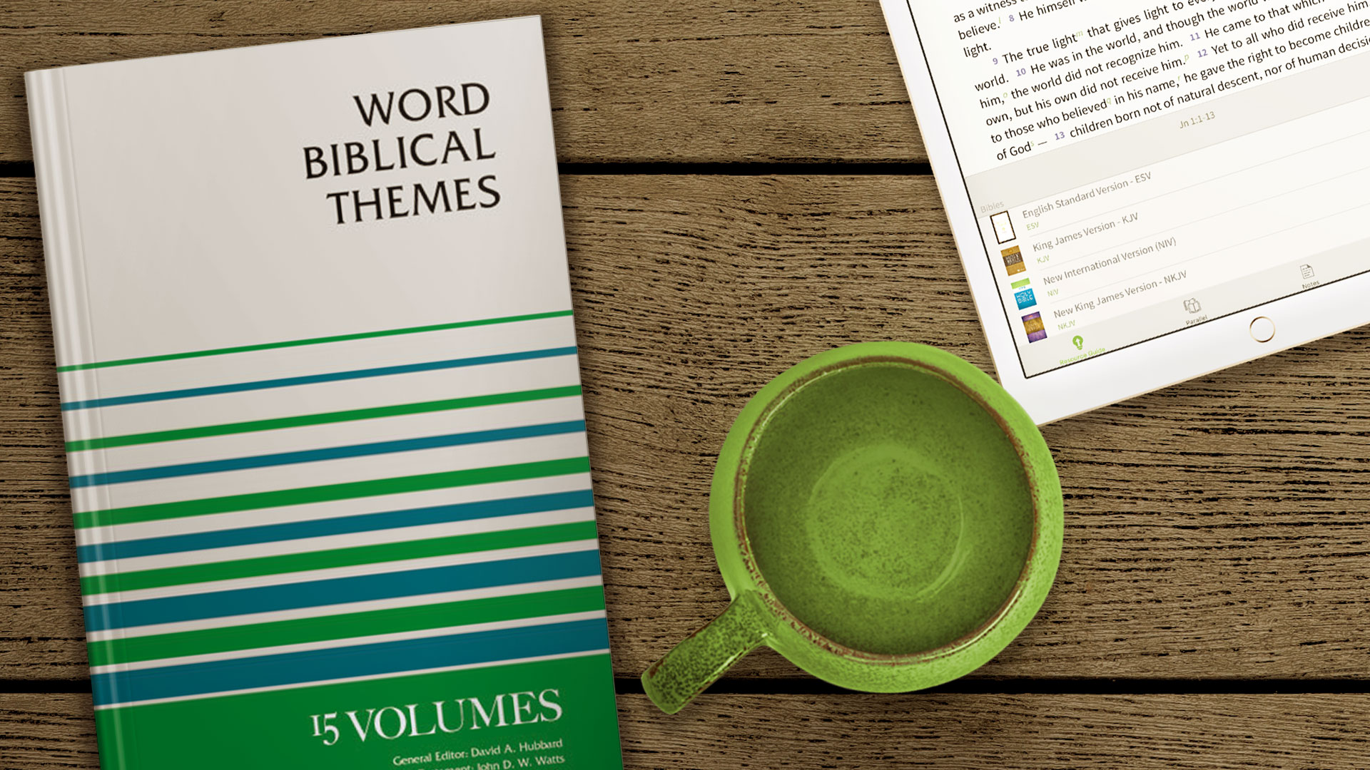 Word Biblical Themes for the Olive Tree Bible App