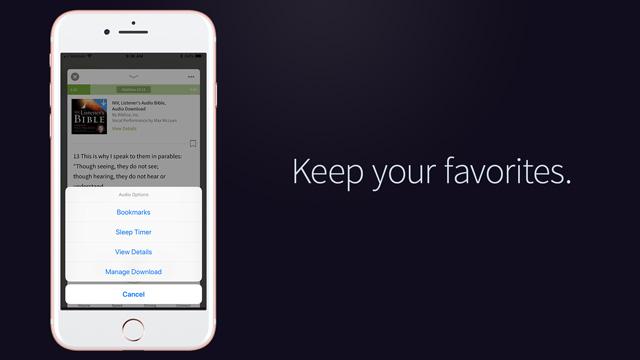 favorite audio books olive tree app