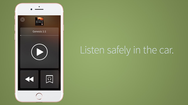 listen safely in the car audio bible