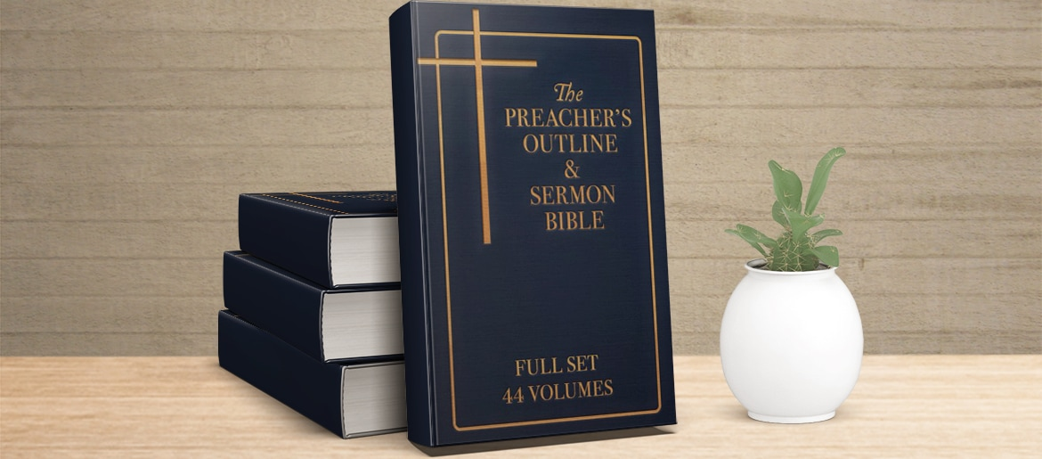 preacher's outline and sermon bible set