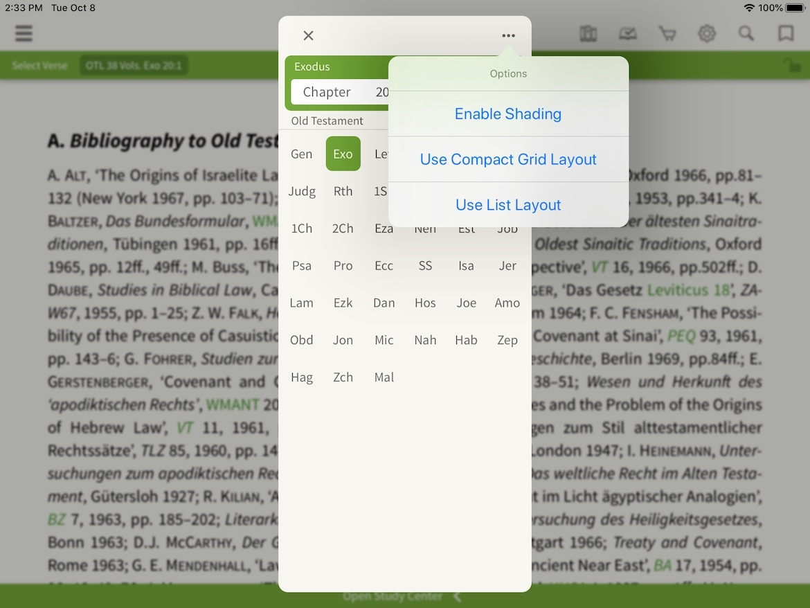 old and New Testament library verse selector