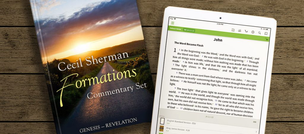 Cecil Sherman Formations Commentary Set Healer