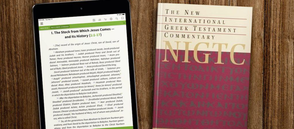 New International Greek Testament Commentary Mark as drama