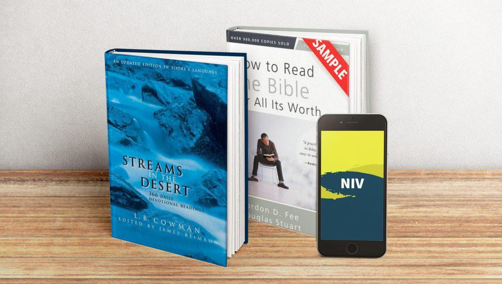 NIV Study Pack rotating titles