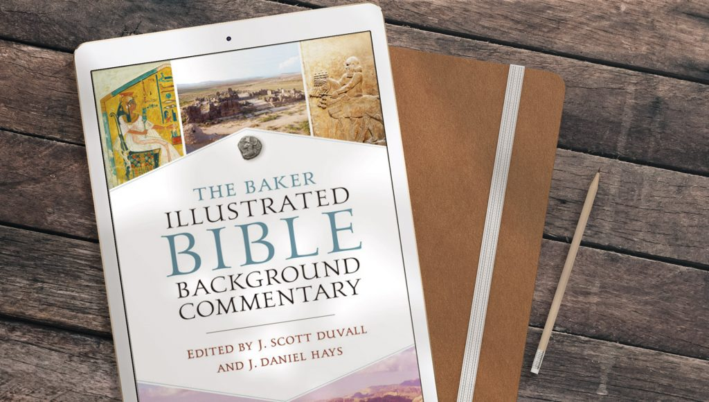The Baker Illustrated Bible Background Commentary letter