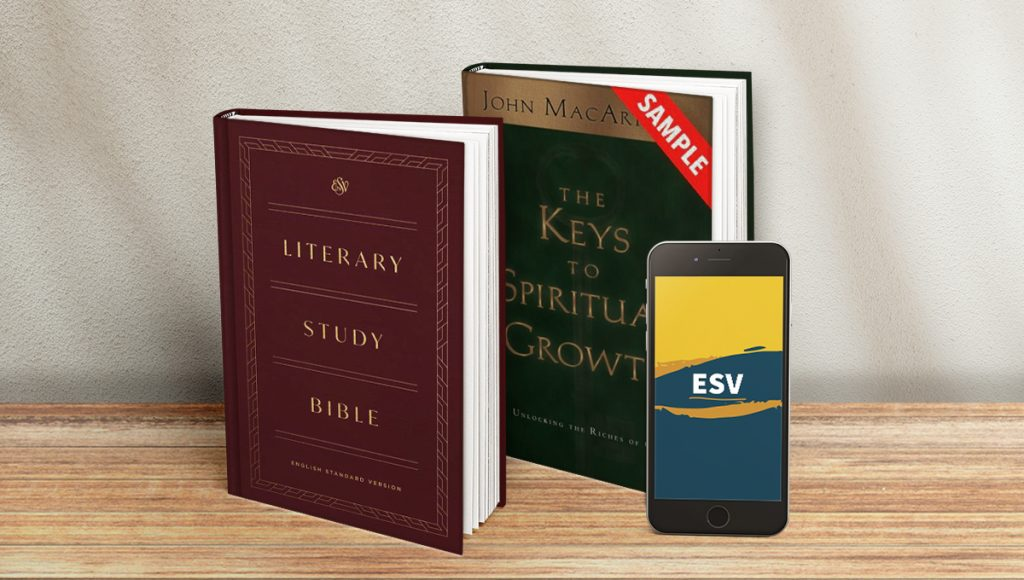 preview access literary study Bible keys to spiritual growth