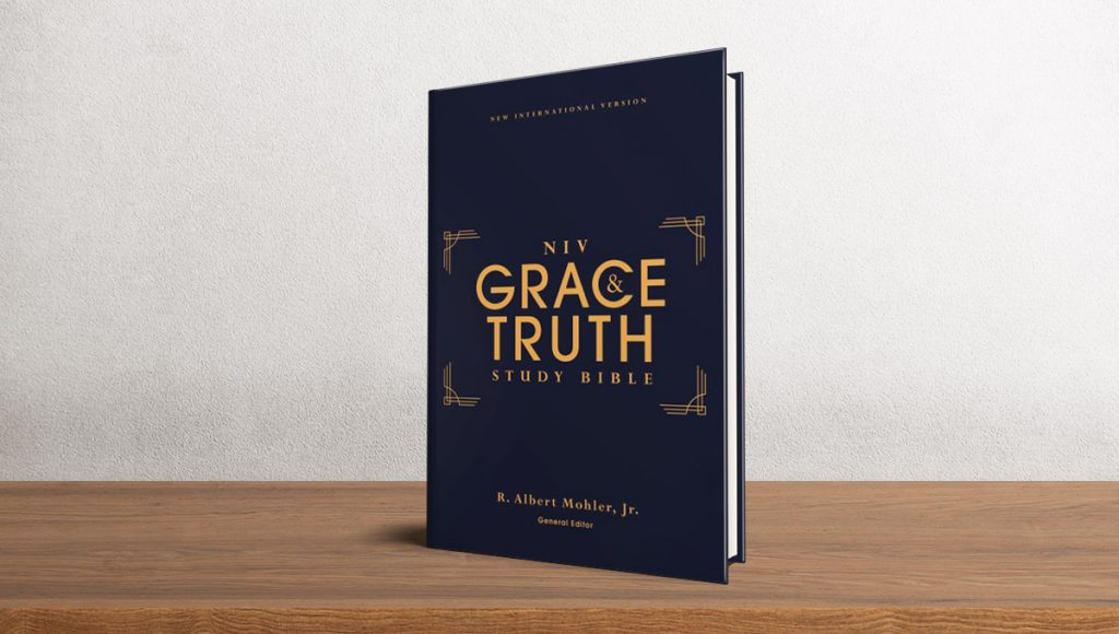 NIV Grace and Truth Study Bible of the Gospel