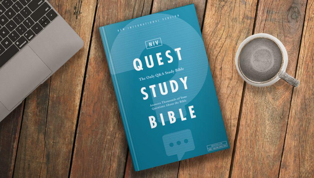 NIV Quest Study Bible big questions