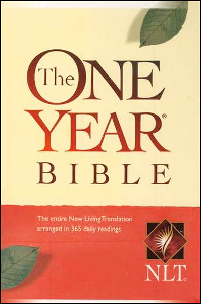 One Year NLT Bible