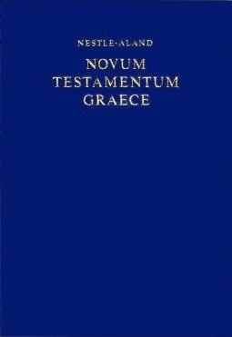 Greek New Testament (NA27)