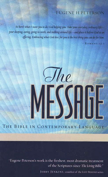 The Message - New Testament (audio format) for Pocket PC by Eugene