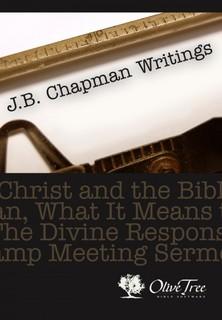 J.B. Chapman Writings