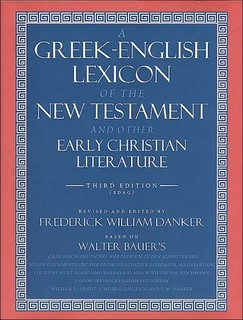 Greek-English Lexicon of the New Testament and Other Early…