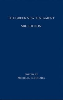SBL Greek New Testament with Critical Apparatus