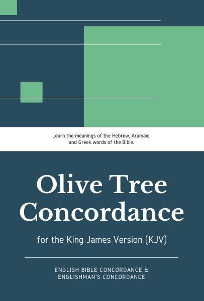 Olive Tree KJV Concordance with KJV Bible