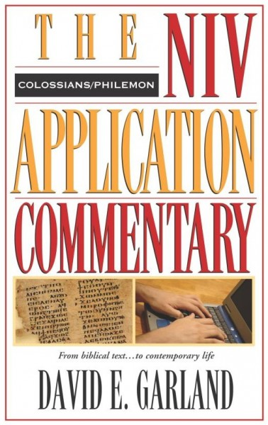 Colossians, Philemon: NIV Application Commentary (NIVAC)