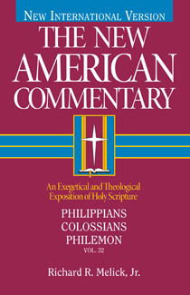 Philippians, Colossians & Philemon: New American Commentary (NAC)