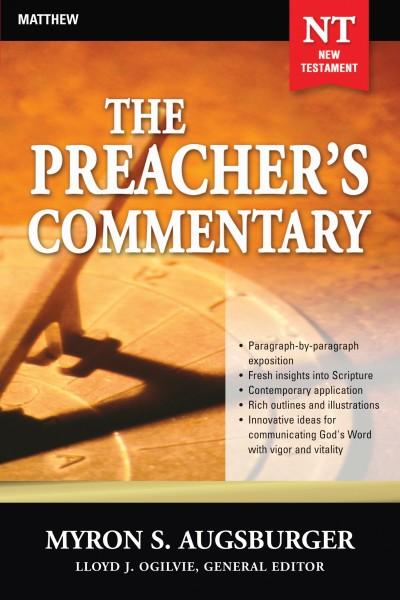 The Preacher's Commentary - Volume 24: Matthew