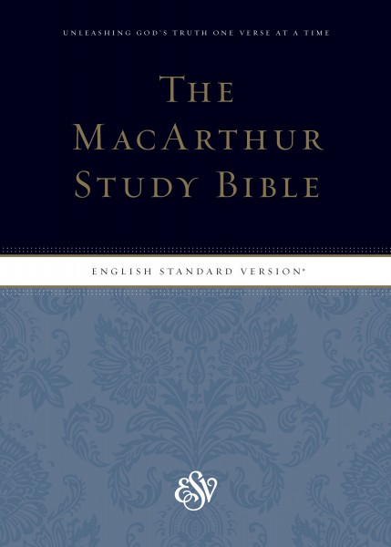 MacArthur Study Bible with ESV