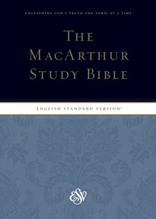 MacArthur Study Bible with ESV