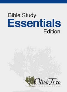 Bible Study Essentials Edition - HCSB