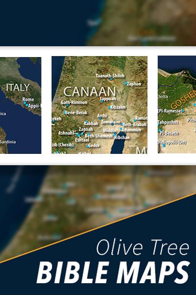 Olive Tree Bible Maps