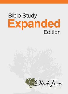 Bible Study Expanded Edition - NIV