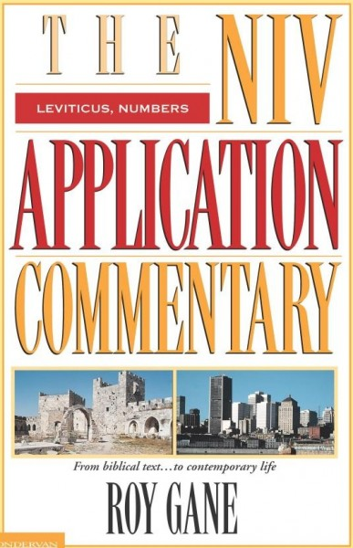 NIV Application Commentary Leviticus, Numbers