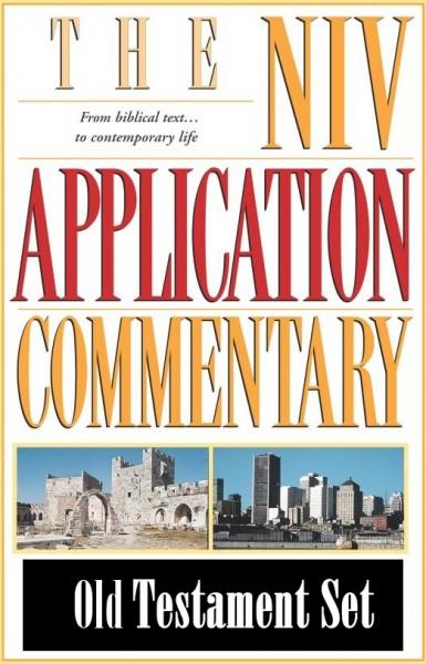 NIV Application Commentary - NIVAC Old Testament Set (20 Vols.)