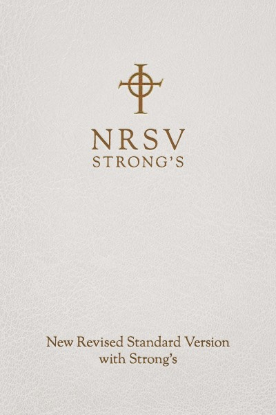 NRSV with Strong's