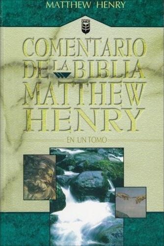 Comentario de la Biblia Matthew Henry