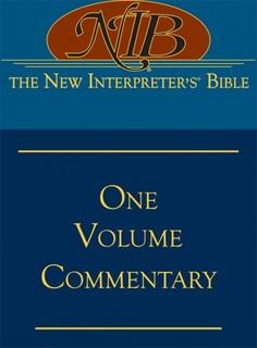 New Interpreter's One Volume Commentary