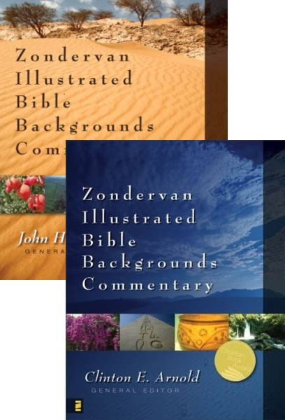 Illustrated Bible Backgrounds Commentary: Old and New Testament Bundle (9 Vols.)