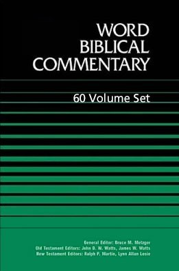 Word Biblical Commentary (WBC) 60 Vols. (2012 Edition)
