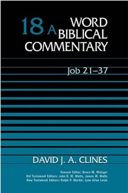 Word Biblical Commentary: Volume 18a: Job 21–37 (WBC)