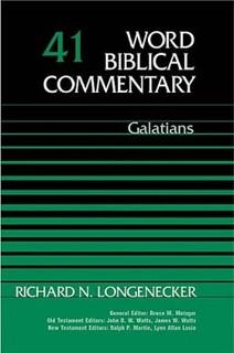 Word Biblical Commentary: Volume 41: Galatians (WBC)