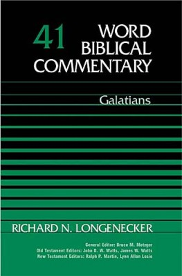 Word Biblical Commentary: Volume 41: Galatians (WBC)
