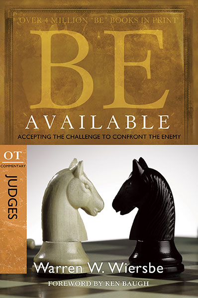 BE Available (Wiersbe BE Series - Judges)