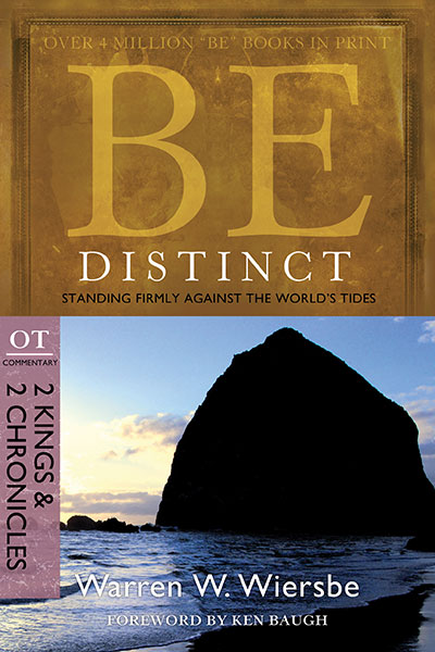 BE Distinct (Wiersbe BE Series - 2 Kings & 2 Chronicles)