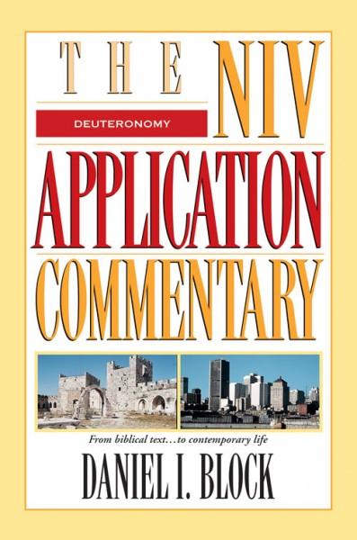 Deuteronomy: NIV Application Commentary (NIVAC)