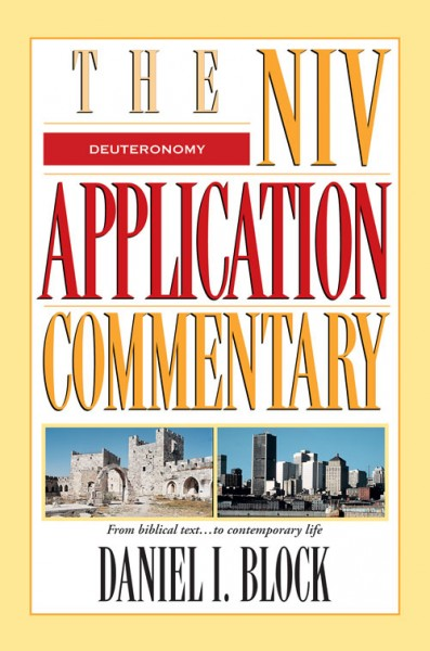 NIV Application Commentary Deuteronomy