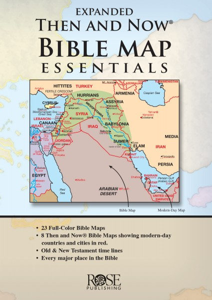 Expanded Then and Now Bible Map Essentials