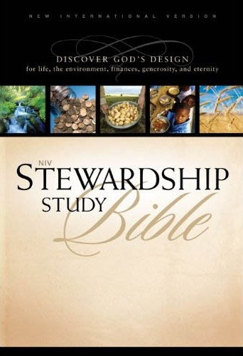 NIV Stewardship Study Bible with NIV