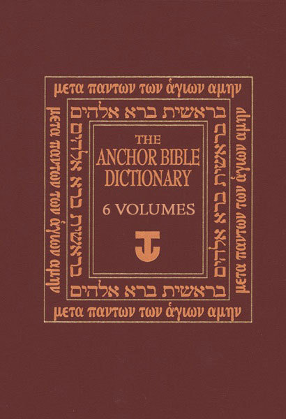 Anchor Bible Dictionary 6 Vols For The Olive Tree Bible App On